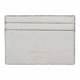 Common Projects White Cracked Multi Card Holder 192133M16300301GB