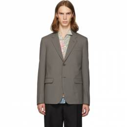 MARNI Brown Wool Blazer GUMU0022U0 S45455