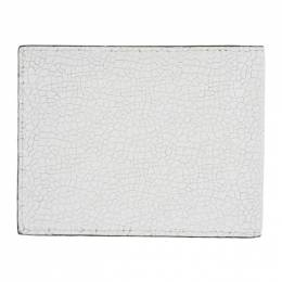 Common Projects White Cracked Standard Wallet 192133M16400601GB