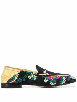 Fabi floral embroidered loafers FD5358ZC2