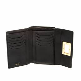 Tom Ford Black Leather Bifold Wallet 221629