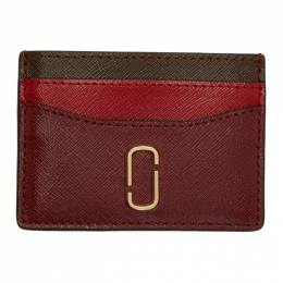 Marc Jacobs Red Snapshot Card Holder 192190F03702701GB