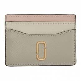 Marc Jacobs Taupe Snapshot Card Holder 192190F03702501GB