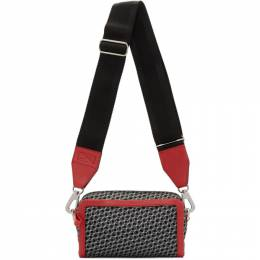 Pierre Hardy Red and Black Cube Box Bag 192377M17000301GB