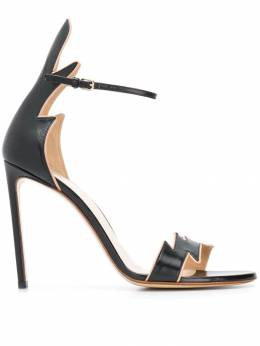 Francesco Russo jagged strap sandals R1S436