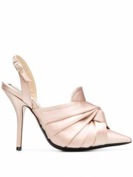 No. 21 knot detail mules 8024