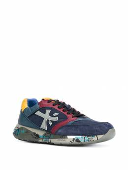 Premiata colour block lace-up sneakers ZACZAC3545