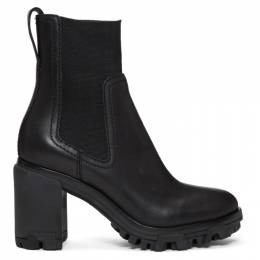 Rag & Bone Black Shiloh High Boots WFF19FF0243D24-BLK