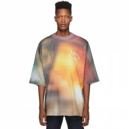 Palm Angels Multicolor Sensitive Content T-Shirt PMAA033F194130068810