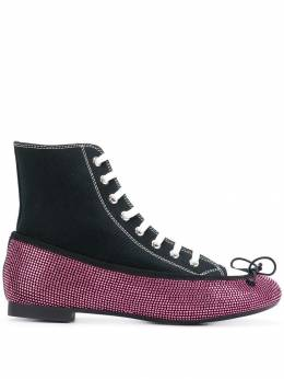 Marco De Vincenzo - lace-up ballerina sneakers 699A3WBF93RN93963036