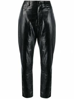 Drome - straight leather trousers 9885D936595569656000