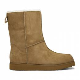 Brown and Off-White UGG Edition Block Boots Eckhaus Latta 192830M22300203GB