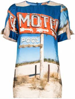 No. 21 Motel print top N2MG1815561