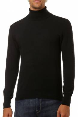 turtleneck William De Faye WFM51_NOIR