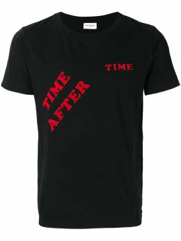 Saint Laurent - футболка 'time after time' 633YB0MG905566590000