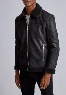 Дубленка Burton Menswear London 06B21PBLK