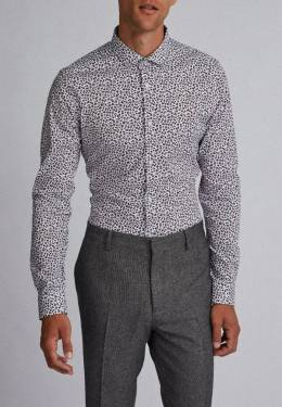 Рубашка Burton Menswear London 19F02PBLU
