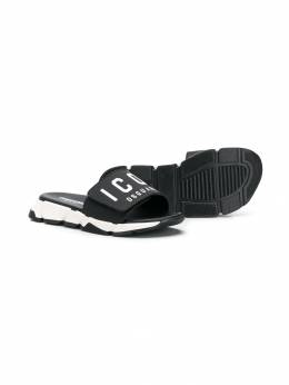 Dsquared2 Kids - шлепанцы Icon 65955339530000000000