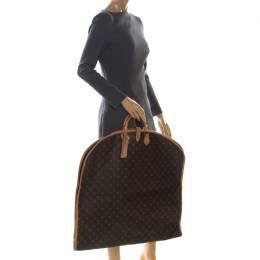 Louis Vuitton Monogram Canvas and Leather Garment Cover 225836