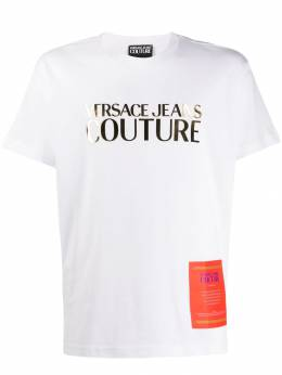 Versace Jeans Couture - logo printed crew neck T-shirt UB3M3360889559639300
