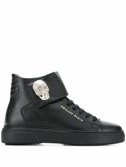 Philipp Plein - skull high-top sneakers SWSC9556PLE635N95658