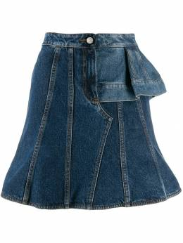 Alexander McQueen - denim mini skirt 966QMAAE950335050000
