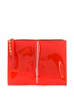 Marni - patent clutch bag O6663X0P090995595990
