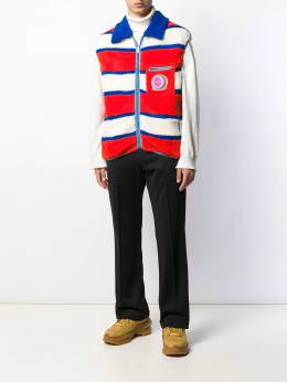 Marni - striped fleece gilet U6665Q6S035089559589