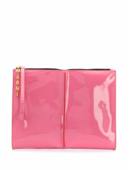 Marni - patent clutch bag O6663X0P090995595996