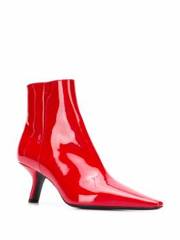 Prada - sculpted heel ankle boots 99LF6656699559099600