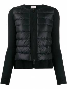 Moncler - zip front padded jacket 6566A963595566538000