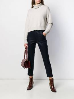 7 For All Mankind - high waisted cropped trousers 5Q696NK9556393500000