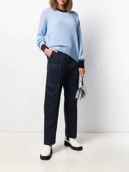 Marni - high waisted belted trousers A6993A6TCR0393366850