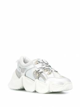 Philipp Plein - metallic runner sneakers SWSC9589PTE663N95658
