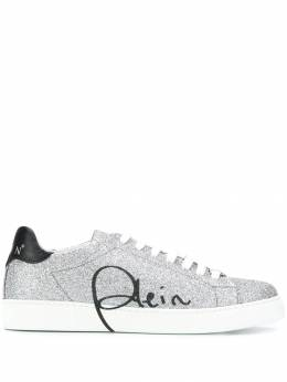 Philipp Plein - Signature low-top sneakers SWSC9696PXV665N95658