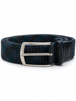 Canali - logo embossed buckle belt 60559559333300000000