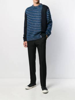 Golden Goose - striped knit sweater MP538A99559593300000