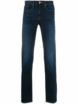FRAME - stonewashed effect straight jeans 65639559333900000000