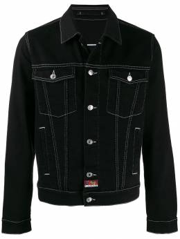 Kenzo - embroidered denim jacket 5BL5690ED95365955000
