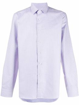 Canali - long sleeved cotton shirt GD696909559368600000