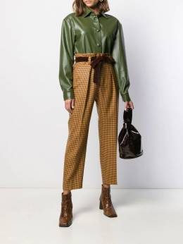 Pt01 - high rise cropped trousers 9VSVXZ66STD955955690