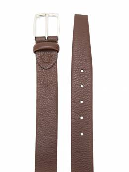 Canali - textured leather belt A6695995593309000000