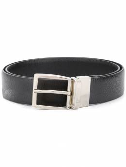 Canali - polished buckle belt A6696359695590353000