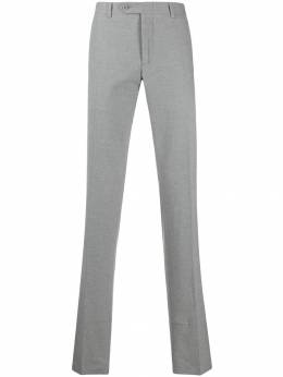 Canali - straight leg tailored trousers 93AV6099595593390000