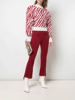 Mother - Insider cropped corduroy trousers 36989555533600000000