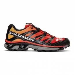 Salomon Red and Black Limited Edition S/Lab XT-4 ADV Sneakers 192837M23700110GB