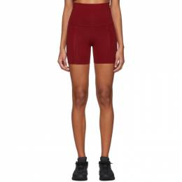 Live the Process Red Geometric Shorts Live the Process 192071F08800604GB
