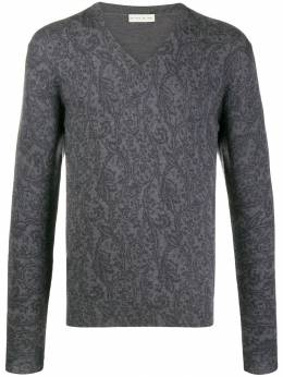 Etro - scroll print jumper 35963095558556000000