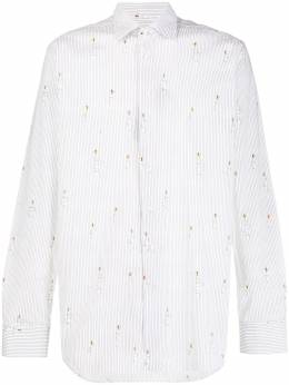 Etro - regular-fit bee-print shirt 68305995558553000000
