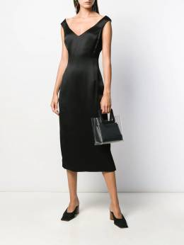 Theory - bardot midi dress 66665955696900000000